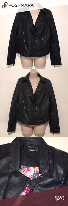JOU JOU faux leather jacket In great condition Jou Jou Jackets & Coats