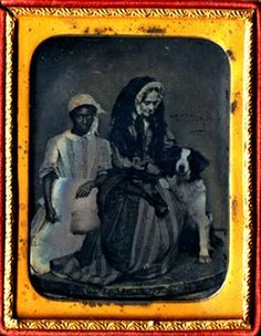 Late 1850s? Lady with bonnet veil - NOT mourning.