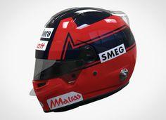 Gilles Villeneuve Ferrari helmet by DaiMOnDesign - Album on Imgur