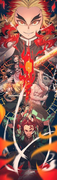 Kimetsu no Yaiba (Demon Slayer) Image - Zerochan Anime Image Board Manga Anime, Anime Demon, Otaku Anime, All Anime, Anime Art, Demon Slayer, Slayer Anime, Animes Wallpapers, Cute Wallpapers