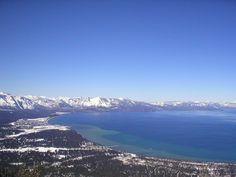 Lake Tahoe, mid-afternoon  www.aroundlaketahoe.com