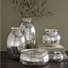 Home-Styling | Ana Antunes: Mercury Glass * Vidro Mercurizado