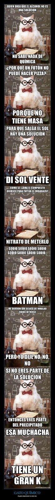 Una de chistes malos ... para químicos