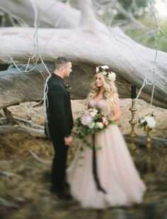 Spellbound Inspired Wedding - The Couple - photography: Let's Frolic Together // planning + design: Urban Shindigs // florals: Luxe Botanique // videography: Audrey Alba Films // wedding dress: Vatana Watters from The Dress Theory San Diego // makeup: Shelby McElroy // hair: Erin Dunaway MUAH // suit: Michael Kors from Friar Tux // furniture rentals: Pow Wow Design Studio // calligraphy: Twinkle & Toast // desserts: Hey There Cupcake // tablescape rentals: Not My Dish