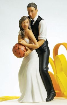Basketball Dream Team Bride and Groom from Wedding Favors Unlimited