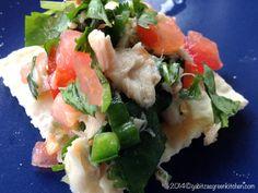 Pico De Gallo with Tuna-Traditional Mexican Recipe
