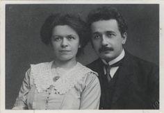 Einstein, Albert (1879-1955), Einstein-Maric, Mileva (1875-1948). Portr_03106