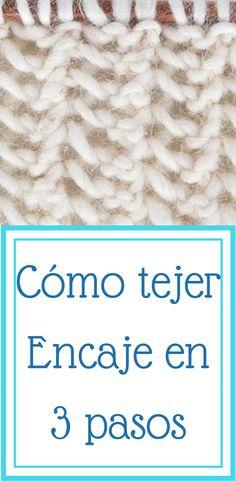 Knitting Help, Knitting Stitches, Knit Art, Farmhouse Rugs, Point Lace, Knit Patterns, Crochet Hats, Diy, Grande