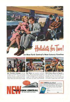 Tumblr - 1948 New York Central Ad