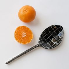 Checkered Porcelain Spoon 20% off Code: HELLOSPRING