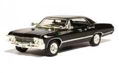 Supernatural Join the Hunt 1967 Chevy Impala Sport Sedan Diecast