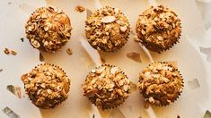 These Muesli Muffins Are Peak Fall.And They Happen to Be Gluten Free Oat Muffins, Baking Muffins, Gluten Free Muffins, Gluten Free Oats, Gluten Free Baking, Gluten Free Desserts, Gluten Free Recipes, Dairy Free, Breakfast Muffins
