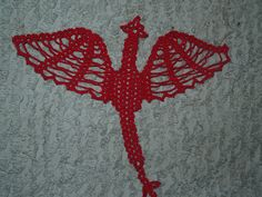 Crochet Dragon Doily or Rug  Pattern by vjf25 on Etsy, $4.95