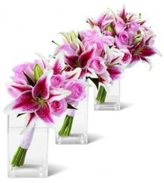 stargazer lily wedding bouquets   bouquets of stargazer lillies image search results