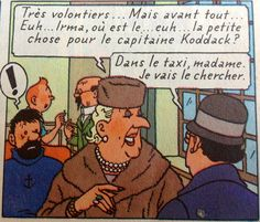 Hergé la castafiore