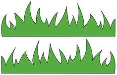 Grass Template For Kids - ClipArt Best