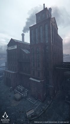 ArtStation - Assassins Creed Syndicate. Architecture Art Dump, Jonas Axelsson