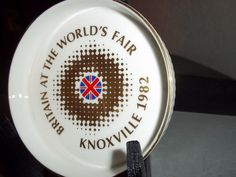 Britain World's Fair  Knoxville 1982 Trinket Dish Bowl Royal Doulton