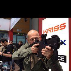 Kriss Vector + me