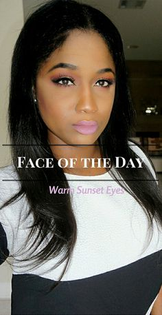 Makeup of the Day: Warm Sunset Eyes - Treceefabulous