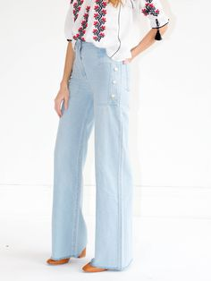 Ulla Johnson Anna Jean - Blue Fade