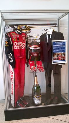 Tony Stewart's 2011 Championship Exhibit at the NASCAR Hall of Fame