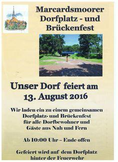 Wiesmoor-info: Brückenfest Marcardsmoor