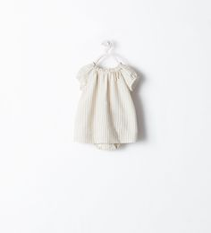 Image 1 of STRIPED DRESS WITH BOW from Zara