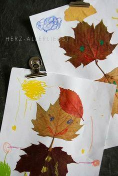 Labores en Red: 2000.- Manualidades de otoño.