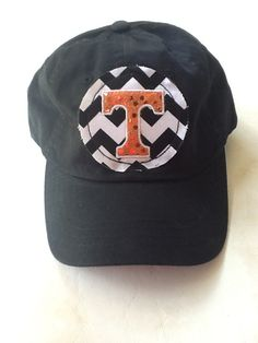 Tennessee Vols Sparkle Distressed Hat by sewfabulous2 on Etsy