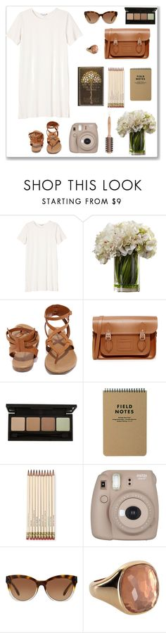 """""""Out drawing"""" by jane-doe-1977 ❤ liked on Polyvore featuring Monki, Breckelle's, The Cambridge Satchel Company, Kate Spade, Fujifilm, Michael Kors, Philip Kingsley and organized"""