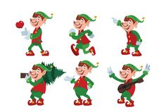 Christmas Dwarf Set by ChristobalMikhovski on @creativemarket