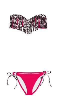 Pink/cheetah bikini (:  immmmm sooooo in lovvveeeee with cheetaaaaah !<3