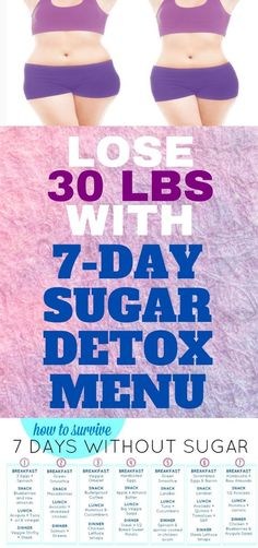 If we are being honest, then it is the time that you need a sugar detox. We all know the dangerous effects that it can have for our health. 7 Day Sugar Detox, Sugar Detox Plan, Wellness Tips, Health And Wellness, Health Fitness, Diabetes Treatment, Cancer Treatment, Exercises, Workouts