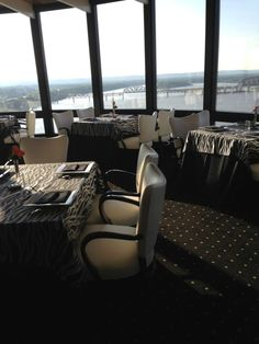 Rivue Restaurant And Lounge At 140 N Fourth Street In Louisville Galt House Hotel
