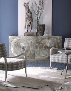 Barcelona Credenza : living room : storage & display : bernhardt furniture co   Robb & Stucky