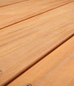 Garapa-Terrassendielen glatt kaufen ✓ FSC-100% ✓ Premium