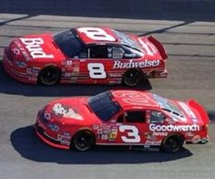 Jr. and Sr. I can't remember offhand where he ran the tax car, but it was top 5 favorite cars he ran