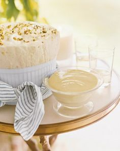 """See the """"Chilled Pineapple Mousse with Pistachios"""" in our Spectacular Dessert Recipes gallery"""