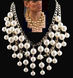 Broke Girls Reproduction Broke Girls Reproduction Beautiful Chunky Bib Necklace  Reproduction of the one worn on the popular show. Price $12.90 - Only 2 left at this price. Free Shipping!!!