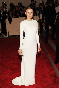 The Best Red Carpet Moments From Calvin Klein Collection: Diane Kruger, Met Gala 2010