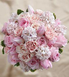 pretty pink bouquet - hübscher rosaner Strauß