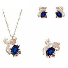 Find More Pendant Necklaces Information about 2016 Les nereides Luxury elegant  unicorn horse necklace gem high end woman fashion gift necklace,High Quality gift box cake designs,China necklace charms for men Suppliers, Cheap necklace headband from Mak fashion jewelry store on Aliexpress.com
