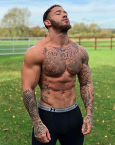 Photo inked bods men, hot guys tattoos и tattoos Corps Idéal, Sexy Tattooed Men, Hot Guys Tattoos, Brust Tattoo, Geniale Tattoos, Inked Men, Shirtless Men, Attractive Men, Muscle Men