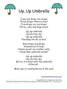 Up, Up Umbrella