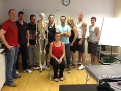 Personal Trainer & Gym Instructor students with trainer Louise Mc Elroy (seated)