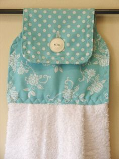 Hanging Kitchen Towel by divadesigns11 on Etsy