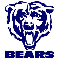 chicago bears logo stencil