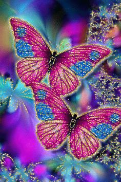With Tenor, maker of GIF Keyboard, add popular Beautiful Butterfly animated GIFs to your conversations. Share the best GIFs now >>> Butterfly Gif, Butterfly Pictures, Butterfly Painting, Butterfly Wallpaper, Butterfly Kisses, Butterfly Watercolor, Blue Butterfly, Fractal Art, Fractals