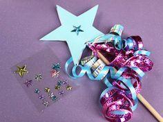 Princess and Prince/Knights Day-- princess wand craft, printable!